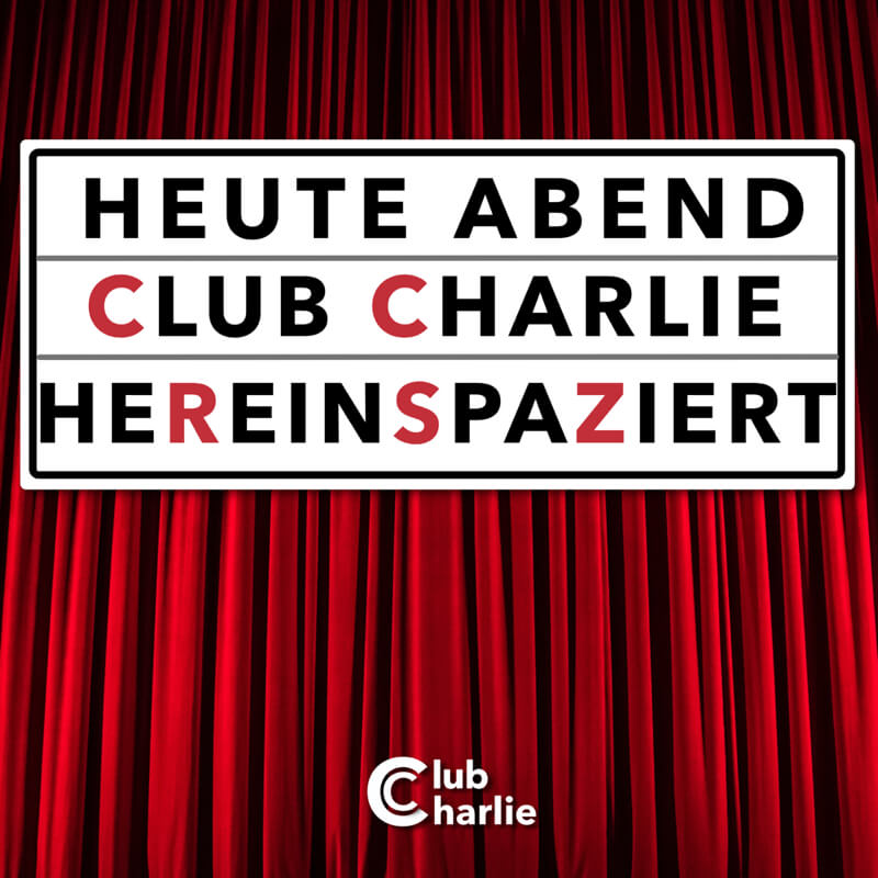 Club Charlie EP-Cover Hereinspaziert